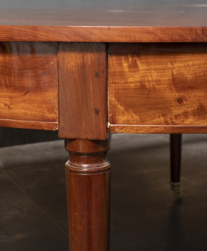 Louis XVI - Mahogany dining table, Louis XVI period