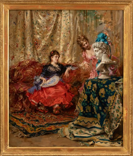 Frederick Hendrik KAEMMERER (1839-1902) - The statue - Paintings & Drawings Style