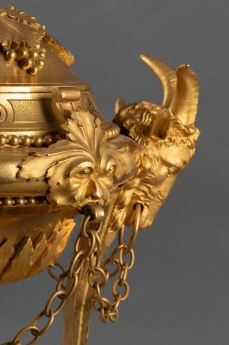 Athenian in gilded bronze -
