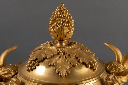 - Athenian in gilded bronze