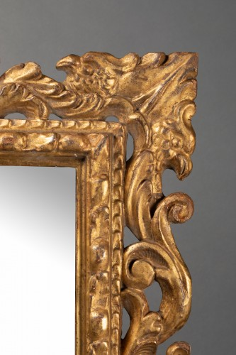 Pair of Italian mirrors in carved wood - 19th century - Mirrors, Trumeau Style