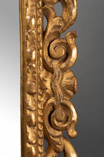 Mirrors, Trumeau  - Pair of Italian mirrors in carved wood - 19th century