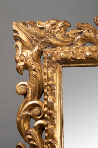 - Pair of Italian mirrors in carved wood - 19th century