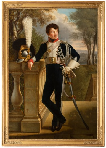 Full-length portrait of General Charles Lebrun (1775-1859) - Attributed to KINSON