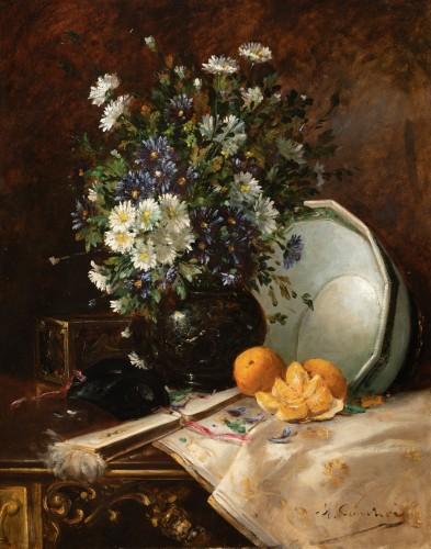 Paintings & Drawings  - Eugène Henri CAUCHOIS (1850-1911) - Still Life