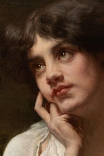 20th century - Portrait of a Woman - Louis Armand Huet,1902