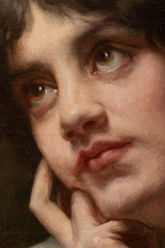 - Portrait of a Woman - Louis Armand Huet,1902