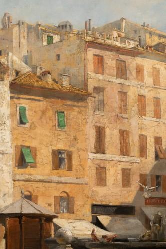 - Véronica Maria HERWEGEN MANINI (1851- 1933) - Rome, The Pantheon