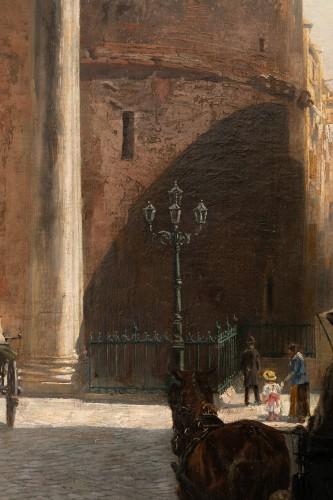 Antiquités - Véronica Maria HERWEGEN MANINI (1851- 1933) - Rome, The Pantheon