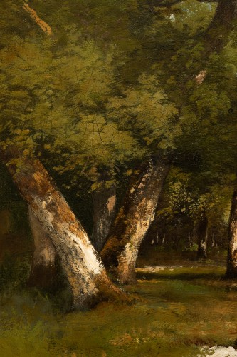 Léon Richet (1847-1907) - Undergrowth -