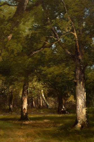19th century - Léon Richet (1847-1907) - Undergrowth
