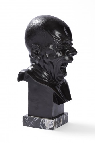 Sculpture  - The Man Who Yawns, Franz Xaver Messerschmidt - Posthumous editions around 1900/20