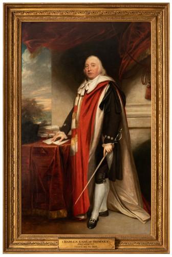 Sir William Beechey R.A. (1753-1839) - Portrait of Charles Marsham, 1st earl of Romney