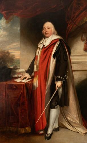 Sir William Beechey R.A. (1753-1839) - Portrait of Charles Marsham, 1st earl of Romney - Paintings & Drawings Style