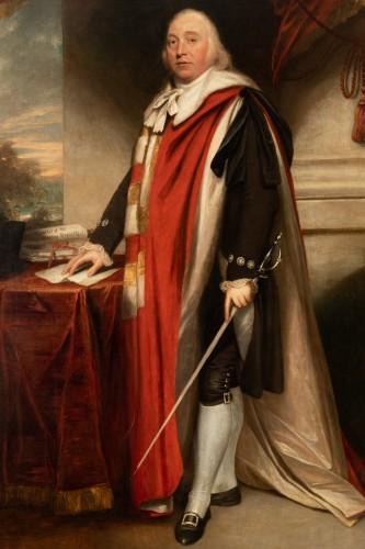 Paintings & Drawings  - Sir William Beechey R.A. (1753-1839) - Portrait of Charles Marsham, 1st earl of Romney