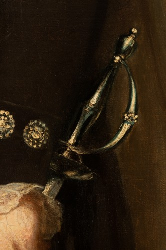 Antiquités - Sir William Beechey R.A. (1753-1839) - Portrait of Charles Marsham, 1st earl of Romney