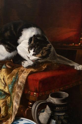 Napoléon III - Auguste Aristide F. CONSTANTIN (1824-1895) - Still Life
