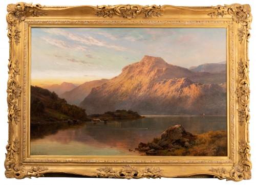 Paintings & Drawings  - Pair of Scottish Landscape - Alfred de Breanski (1821-1886)