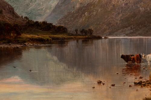 Antiquités - Pair of Scottish Landscape - Alfred de Breanski (1821-1886)