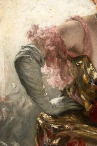 20th century - Karl Gampenrieder (1860-1930) - Portrait of a woman