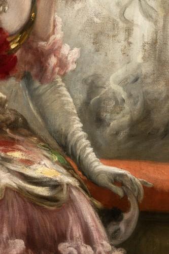 Art nouveau - Karl Gampenrieder (1860-1930) - Portrait of a woman