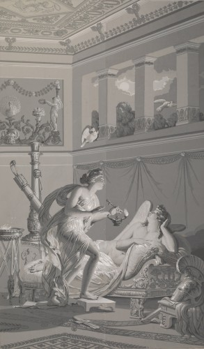 """Panoramic wallpaper """"The Story of Psyche"""" edited by Desfossé & Karth -"""