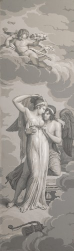 """- Panoramic wallpaper """"The Story of Psyche"""" edited by Desfossé & Karth"""