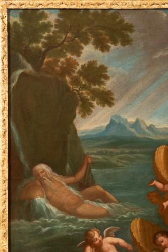 Pair of 18th century mythological scenes - Follower of Filippo LAURI -