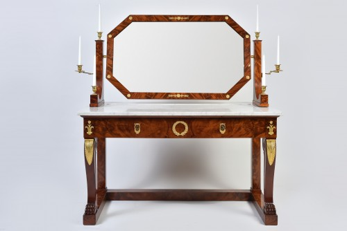 "Empire Period Dressing Table Stamped Jacob. D. R. Meslee "" - Furniture Style Empire"