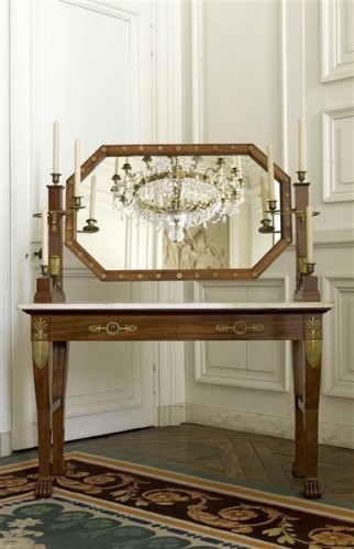 19th century - Empire Period Dressing Table Stamped Jacob. D. R. Meslee ""