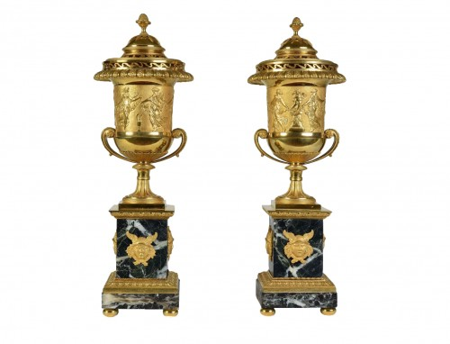 Pair of  brûle-parfums - Attributed to Pierre-Philippe Thomire (1751-1843)