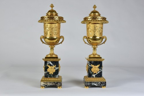 19th century - Pair of  brûle-parfums - Attributed to Pierre-Philippe Thomire (1751-1843)