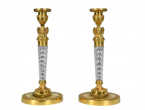 Pair Of Charles X Candlesticks