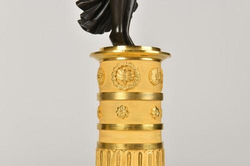 Victory bronze Candelabra, Empire Period - Empire