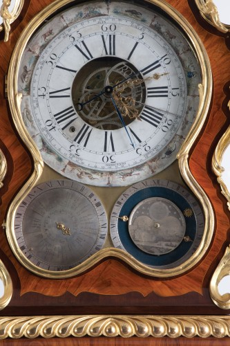 18th century - A Louis XV, Astronomical Longcase Regulator With Equation Of Time
