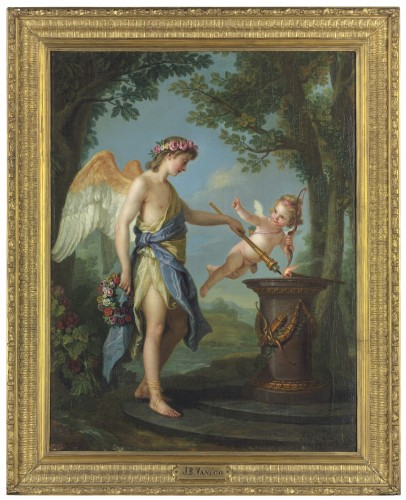 Paintings & Drawings  - Charles Amédée Philippe van Loo (1719-1795), Hymen and Cupid