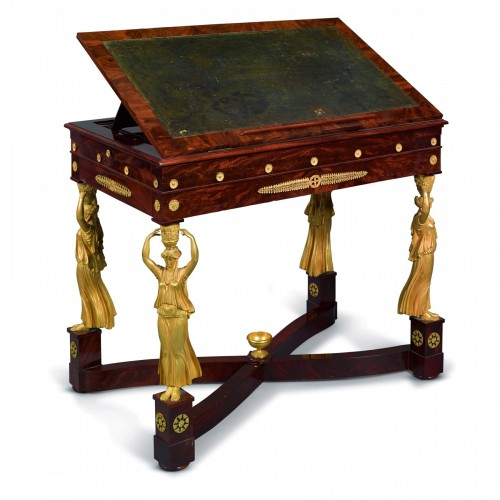 A Consulat Period, Writing Table, Stamped Jacob Frères (1796–1803)