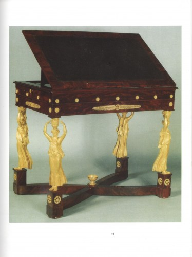 A Consulat Period, Writing Table, Stamped Jacob Frères (1796–1803) - Empire