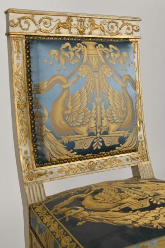 Empire - Important white and gold Empire period Salon