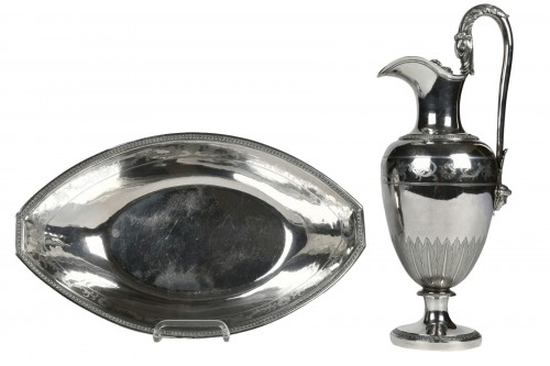 Ewer and its basin, Directoire Period