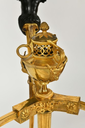 Gilt Bronze Guéridon, Attributed to Pierre Goutière, circa 1790 - Furniture Style Louis XVI