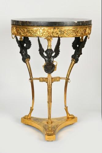 Furniture  - Gilt Bronze Guéridon, Attributed to Pierre Goutière, circa 1790