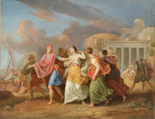 Laurant Pécheux (1729- 1821), The Abduction of Helen 1760