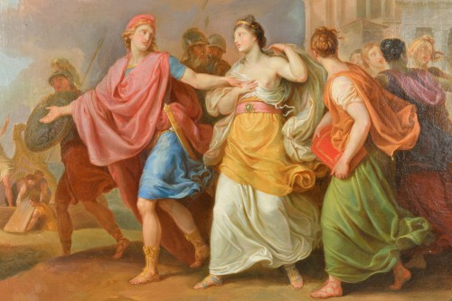 Paintings & Drawings  - Laurant Pécheux (1729- 1821), The Abduction of Helen 1760