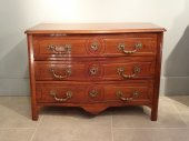 Early 18th century Louis XIV walnut commode