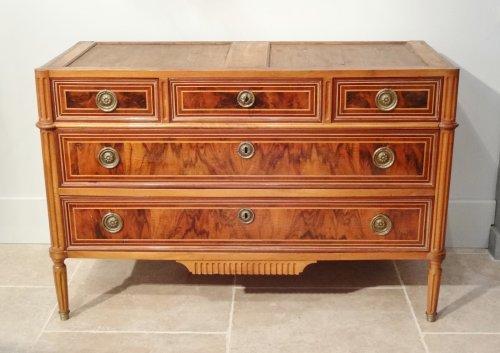 Louis XVI commode 18th century - Furniture Style Louis XVI