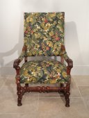 Large armchair Louis XIV 17th century