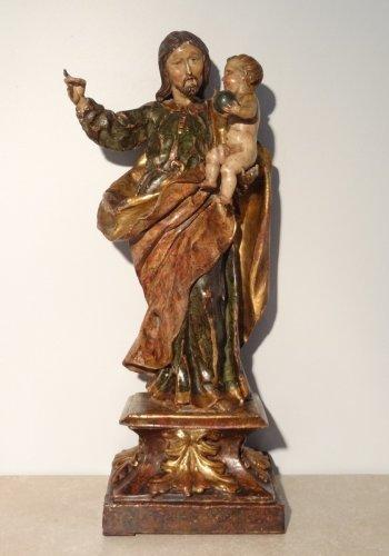 Statue of St. Joseph, Spain 17th century
