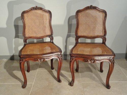 chaise louis xv antiquit s sur anticstore xviiie si cle. Black Bedroom Furniture Sets. Home Design Ideas