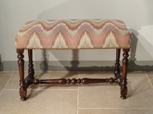 Louis XIII Bench Walnut 17th Century